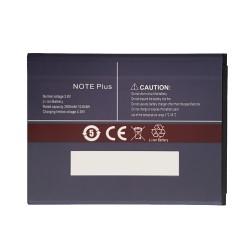Cubot Note Plus, batteria...